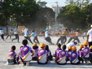 白熱する運動会の様子2